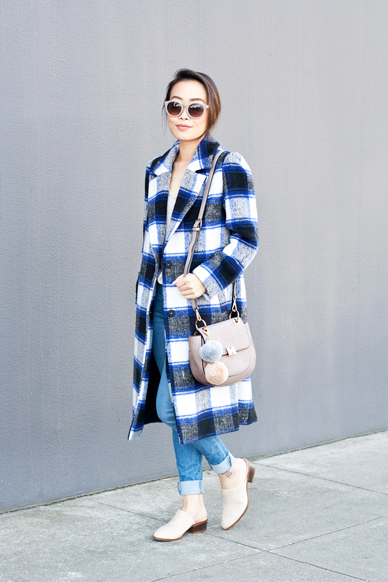 06plaid-checkers-coat-denim-mules-pompoms-sf-style-fashion