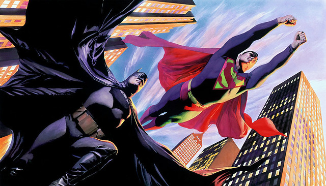 Batman V Superman Alex Ross
