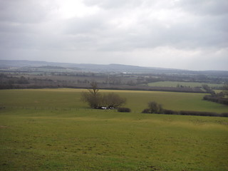 Chiltern View from field at Helsthorpe Farm