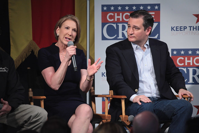 Carly Fiorina & Ted Cruz
