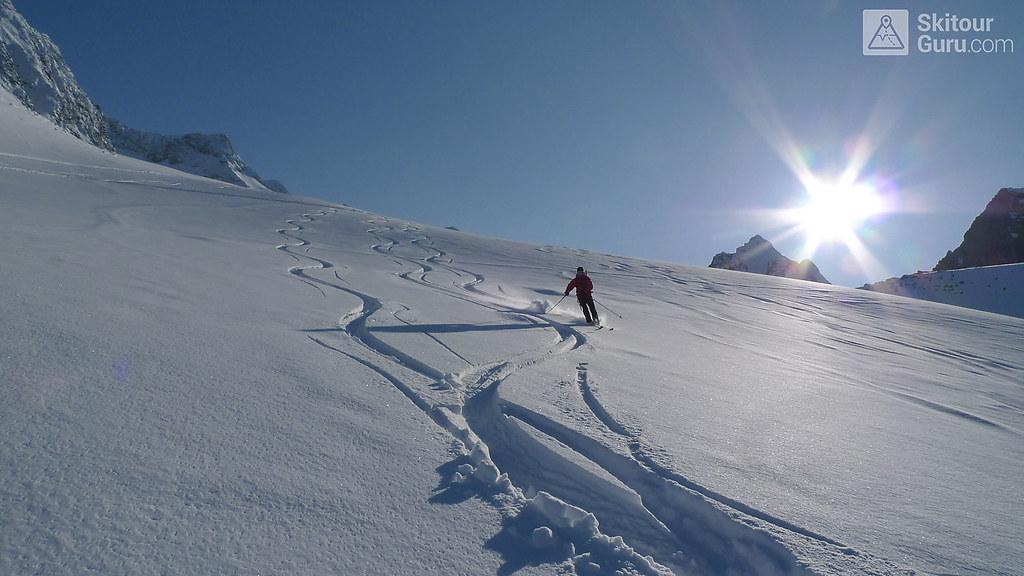 Kraulscharte Stubaiské Alpy Österreich foto 18