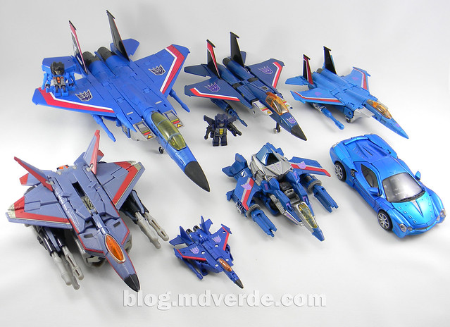 Transformers Thundercracker Deluxe - Generations - modo alterno vs otros Thundercracker