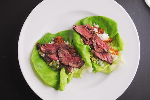 Korean-lettuce-wraps