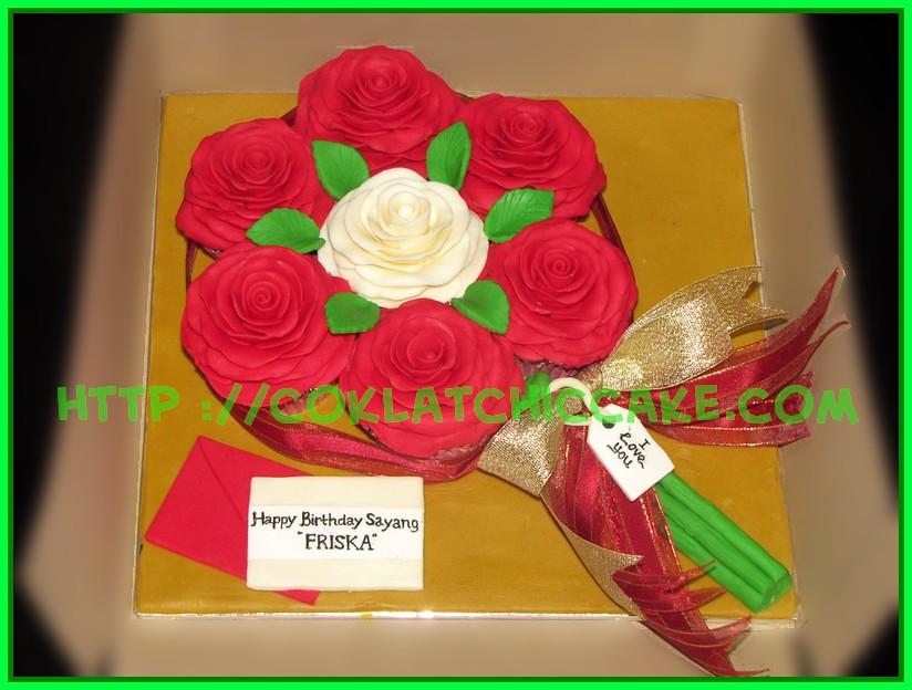 Cupcake set Flower