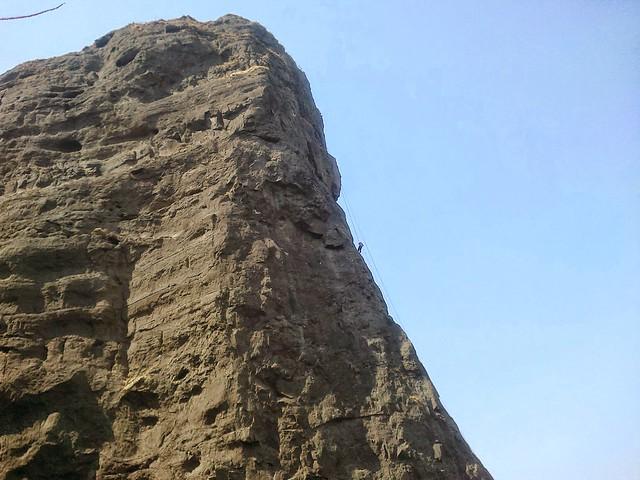 Rappelling Near Khandala Dukes Nose 300 Feet