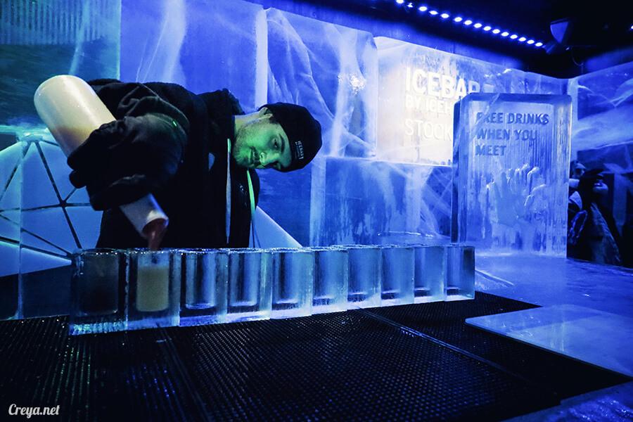 2016.03.24 ▐ 看我歐行腿 ▐ 斯德哥爾摩的 ICEBAR 冰造酒吧,奇妙緣份與萍水相逢的台灣鄉親破冰共飲 15.jpg