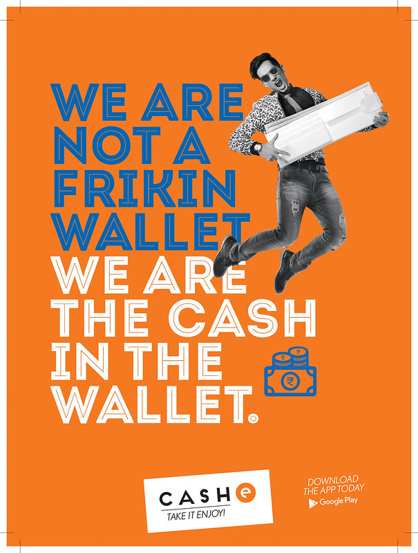 We are not frekin wallet we are cash in the wallet