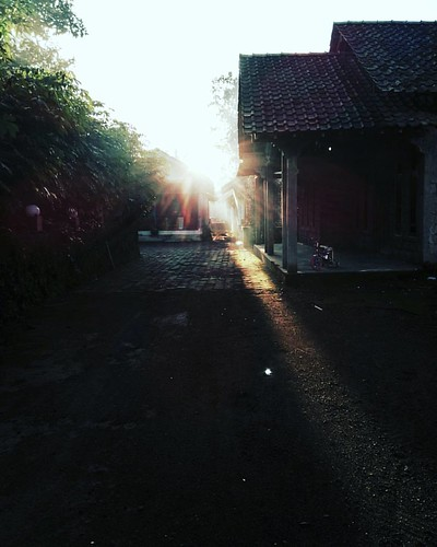 sunrise indonesia landscape yogyakarta desa travelphoto