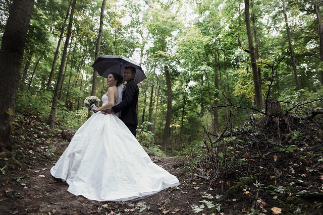 Velma & Eric | Cambridge Elegant Rainy Day Wedding