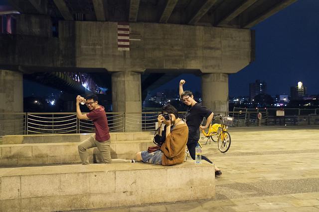 Slides under Yong Fu Bridge