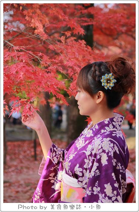 【日本京都】楓葉季和服體驗/TekuTeku 京都(てくてく京都) @魚樂分享誌