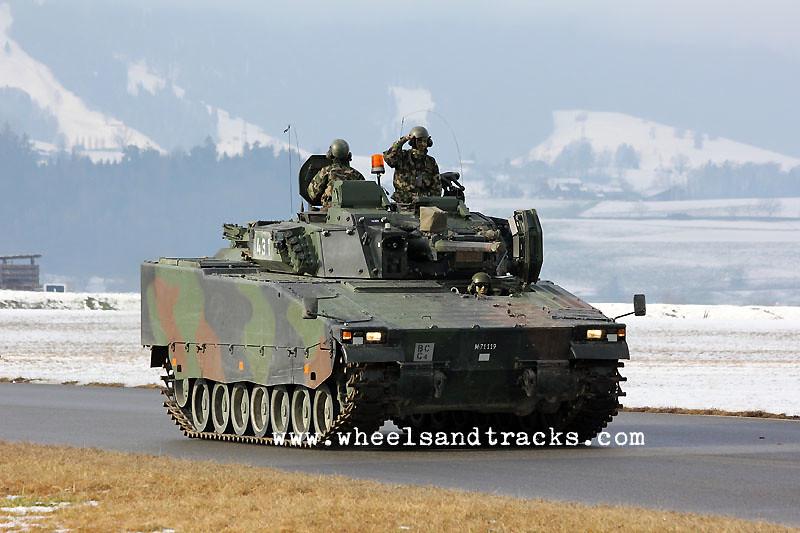 Spz 2000 (Hägglunds CV-9030) - Swiss Army