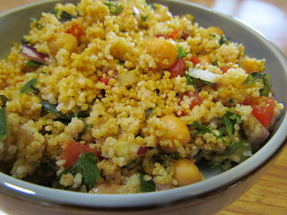 Moroccan-Spiced Couscous Tabbouleh