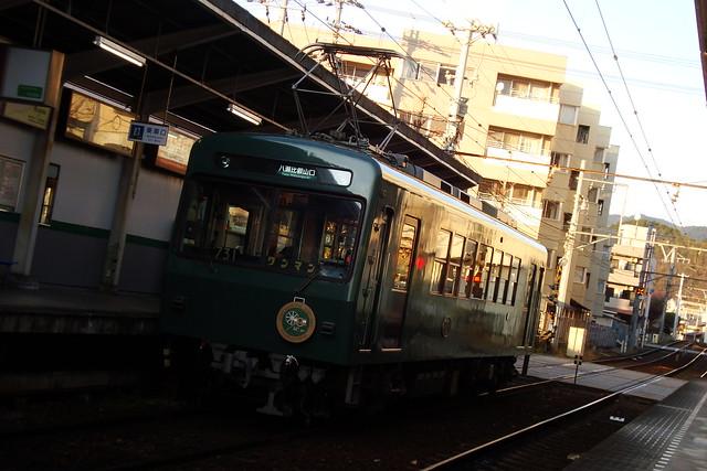 """2016/01 叡山電車731号車""""ノスタルジック731"""" #02"""