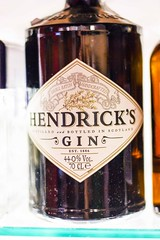 Hendrick's gin bottle, best gin for Gin and T…