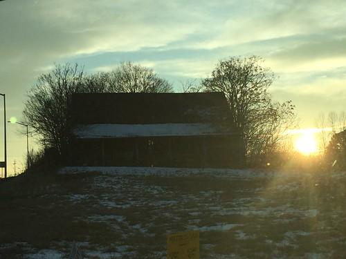 sunset januarysunset
