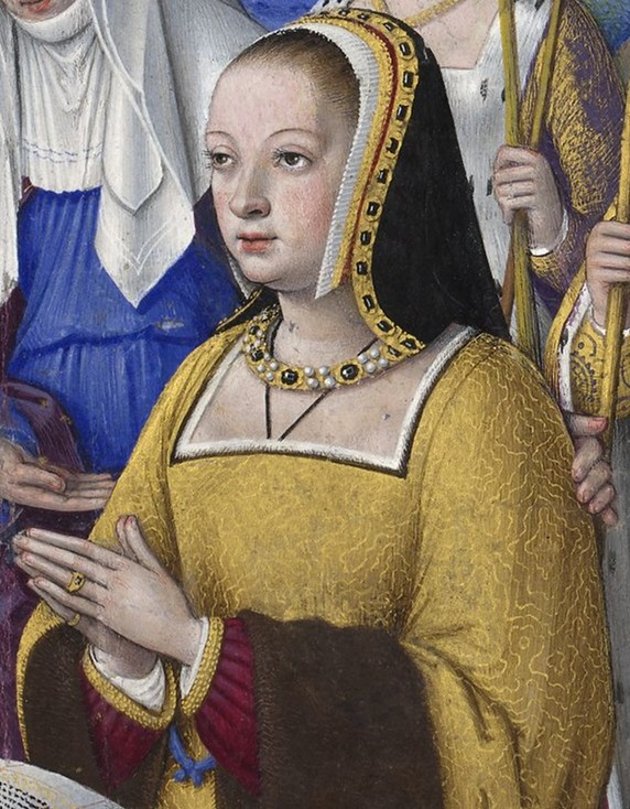 Anne of Brittany; painting by Jean Bourdichon