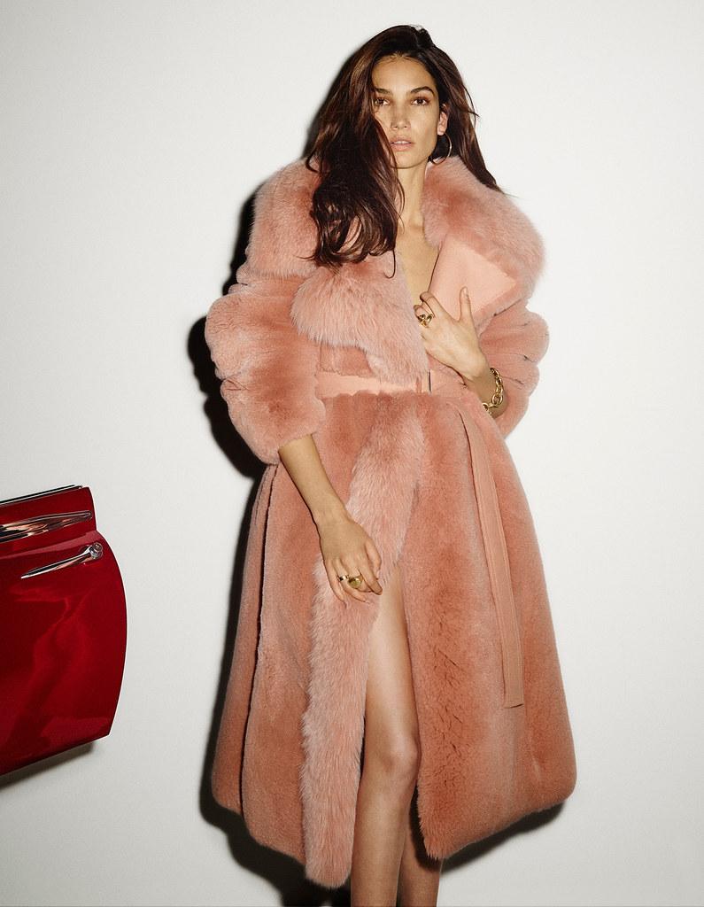Лили Олдридж — Фотосессия для «Vogue» ES 2015 – 8