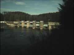 Kruzberk dam (retro)
