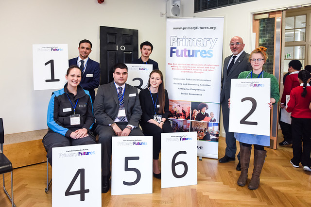 Primary Futures -  with apprentices and the PM's Apprenticeship Adviser, Nadhim Zahawi MP, Mayflower Primary School – 25th January 2016