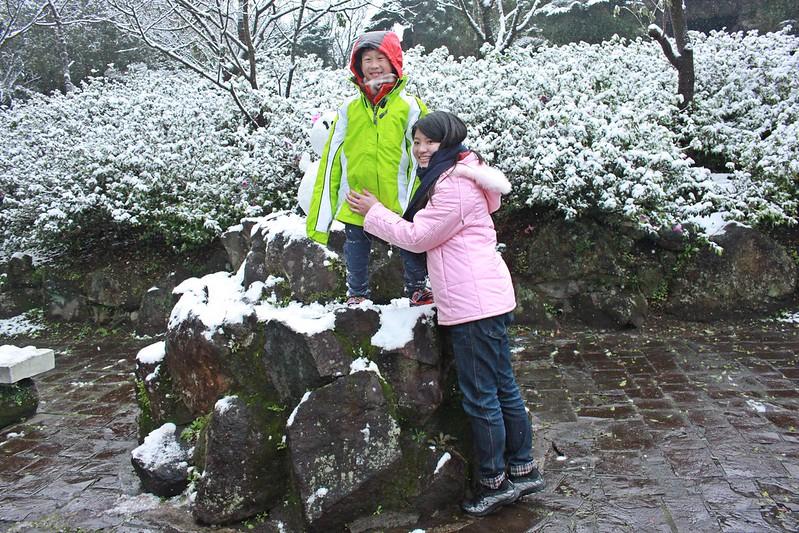 2016-台北陽明山-瑞雪-難得一見的雪白山景-17度C隨拍 (137)