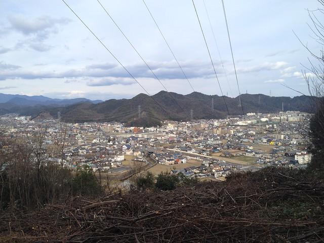 眉山 鉄塔からの眺め