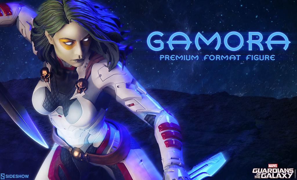 Sideshow Collectibles【星際異攻隊:葛摩菈】Gamora 1/4 比例 全身雕像