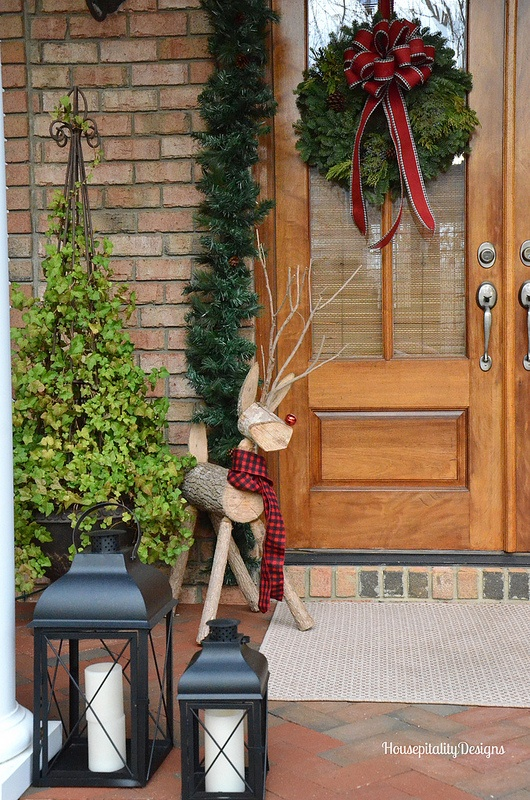 Christmas Front Porch 2015 - Housepitality Designs
