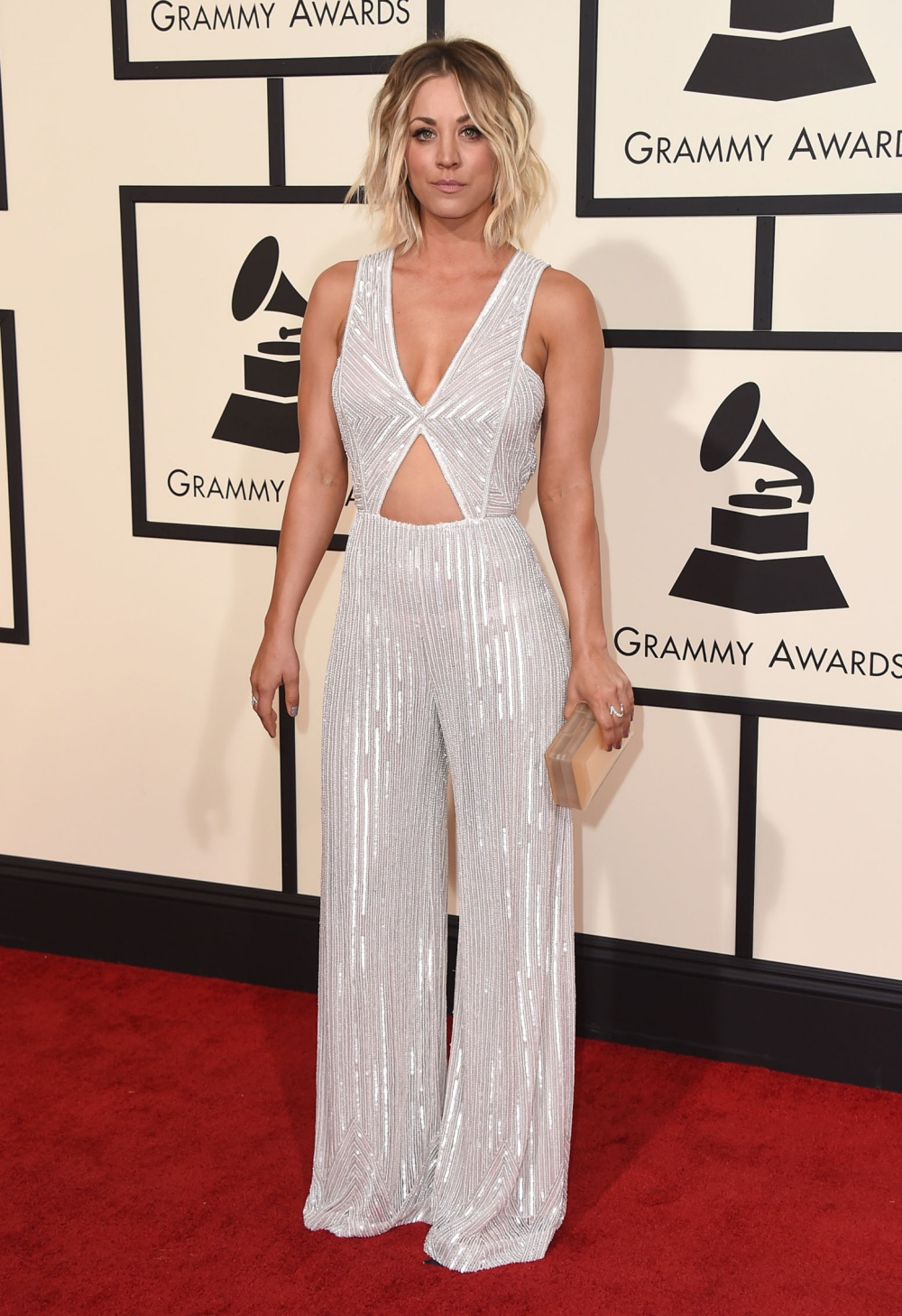 Kaley Cuoco Grammys 2016 Best Dressed Celebrities