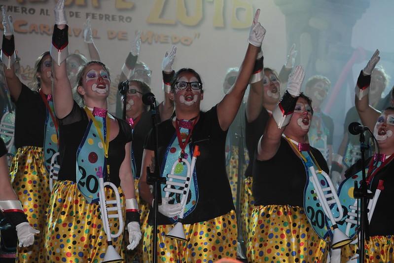 I I Fase del concurso de Murgas, Las Intoxicadas (88)