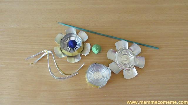 Fiore riciclato