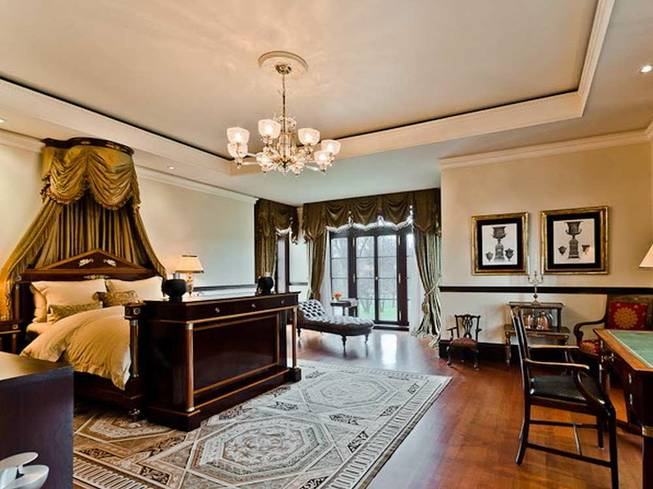 Спальня в поместье Селин Дион