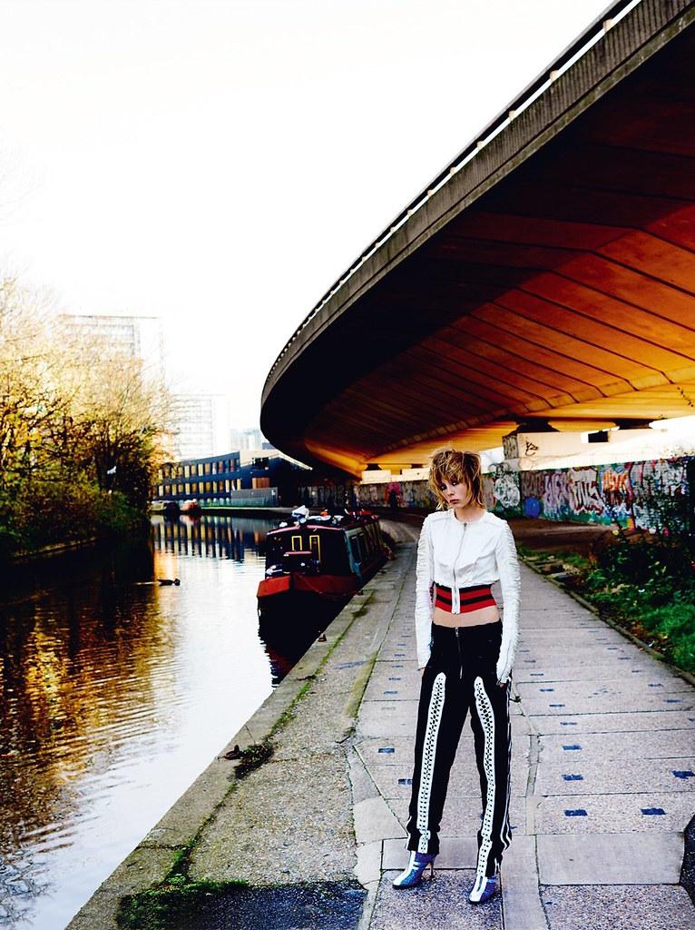 Эди Кэмпбелл — Фотосессия для «Vogue» UK 2016 – 3