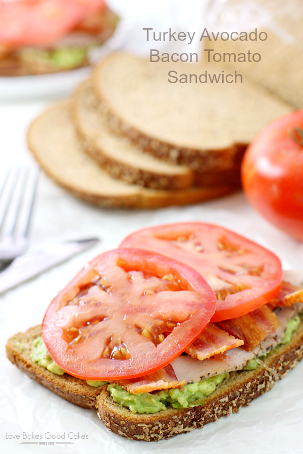 Pineapple cottage cheese salad love bakes good cakes shake up your lunch menu with this turkey avocado bacon tomato sandwich makes an easy forumfinder Images