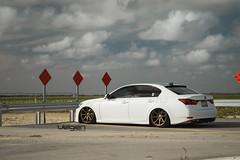 Lexus GS350 FSport on Satin Bronze Velgen Wheels VMB8 20x9 & 20x10.5