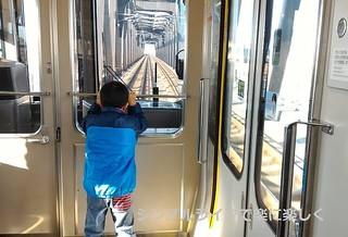青春18兵庫、電車内息子