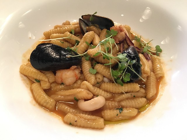 House-made cavatelli - One Market Restaurant