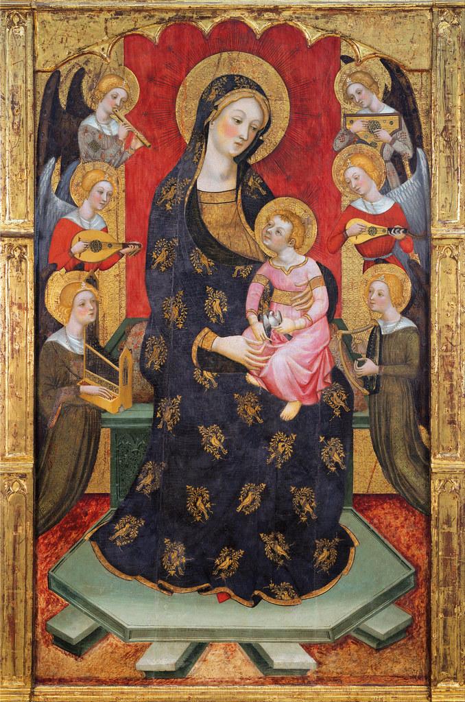 Pere Serra - Virgin of the Angels (c.1385)