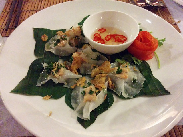 'white rose' dumplings @ Secret Garden