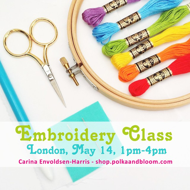 Class with me in London, May 14