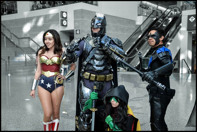 Wondercon 2016 - Costumes in Color