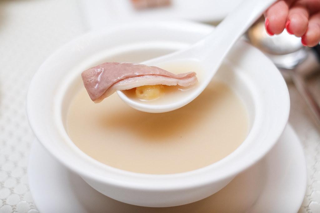 华乐粤菜馆银杏猪肚汤