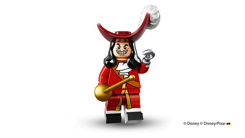 LEGO Collectible Minifigures 71012 - Disney - Captain Hook