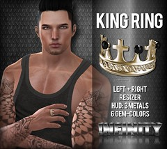 !NFINITY 'The KING' Ring for MOH7