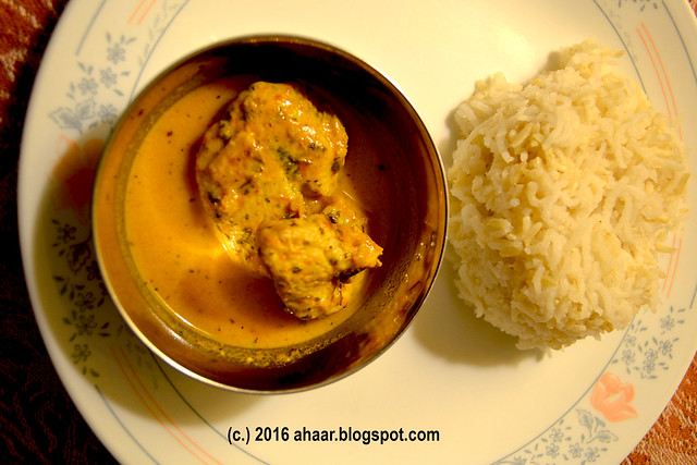 Kasoori methi chicken — Mohana's recipe