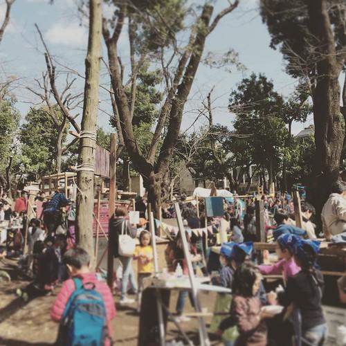 良い天気 #羽根木公園 #子供商店街