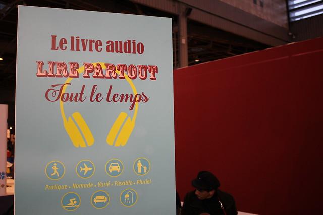 Bornes d'écoute livre audio - Livre Paris 2016