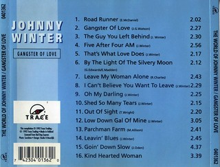 Johnny Winter Gangster of love