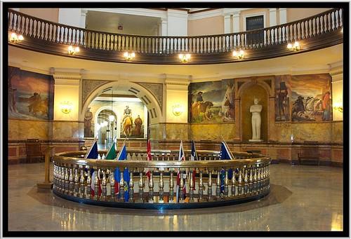 Kansas State Capitol ~ Topeka Kansas ~  Rotunda ~ Murals