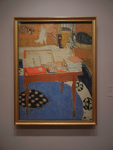 Pierre Bonnard, Legion of Honor, SF - The Work Table _ 1861
